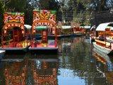 Plovoucí zahrady Xochimilco