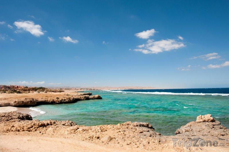 Fotka, Foto Pobřeží poblíž Marsa Alam (Východní pobřeží, Egypt)