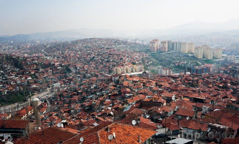 Fotka, Foto Pohled na Ankaru (Turecko)