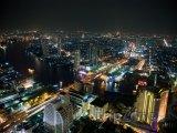 Pohled na Bangkok v noci