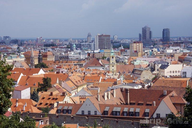 Fotka, Foto Pohled na Bratislavu (Bratislava, Slovensko)
