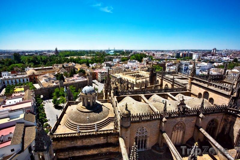 Fotka, Foto Pohled na město Sevilla (Sevilla, Španělsko)