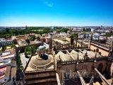 Pohled na město Sevilla