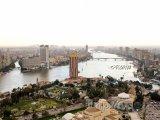 Pohled na město z televizní věže