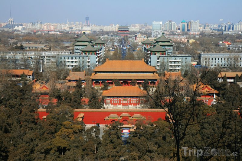 Fotka, Foto Pohled na Peking (Peking, Čína)