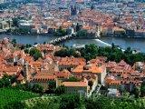 Pohled na Prahu z Petřína