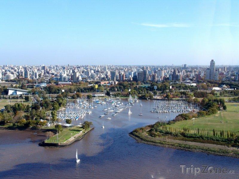 Fotka, Foto Pohled na přístav (Buenos Aires, Argentina)