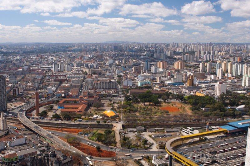 Fotka, Foto Pohled na Sao Paulo (Brazílie)