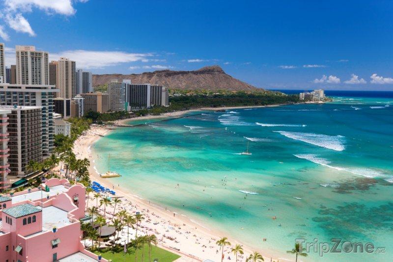 Fotka, Foto Pohled na Waikiki Beach Resort (Honolulu, USA)