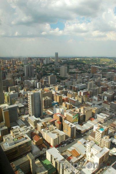 Fotka, Foto Pohled ze vzduchu (Johannesburg, Jihoafrická republika)