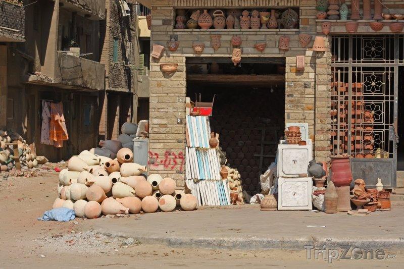 Fotka, Foto Pouliční hrnčířství (Káhira, Egypt)