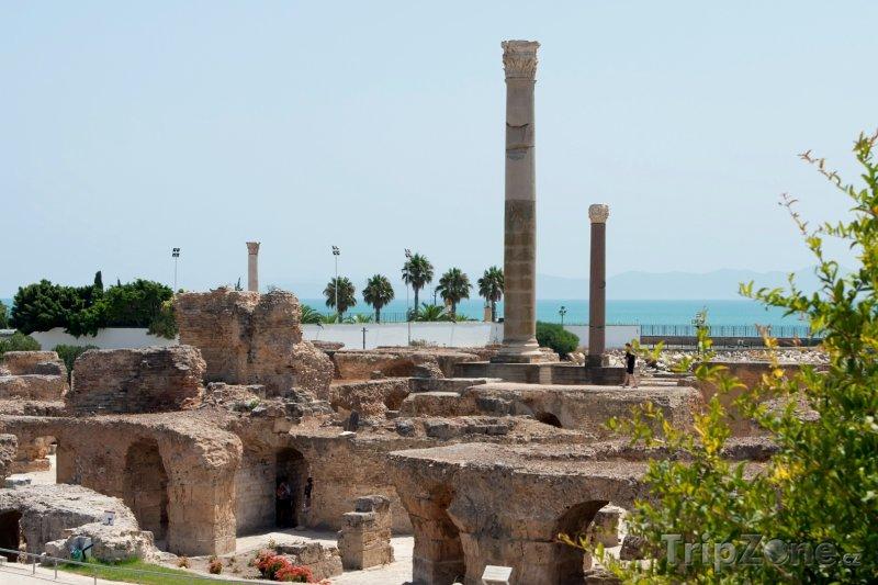 Fotka, Foto Pozůstatky Kartága (Tunisko)