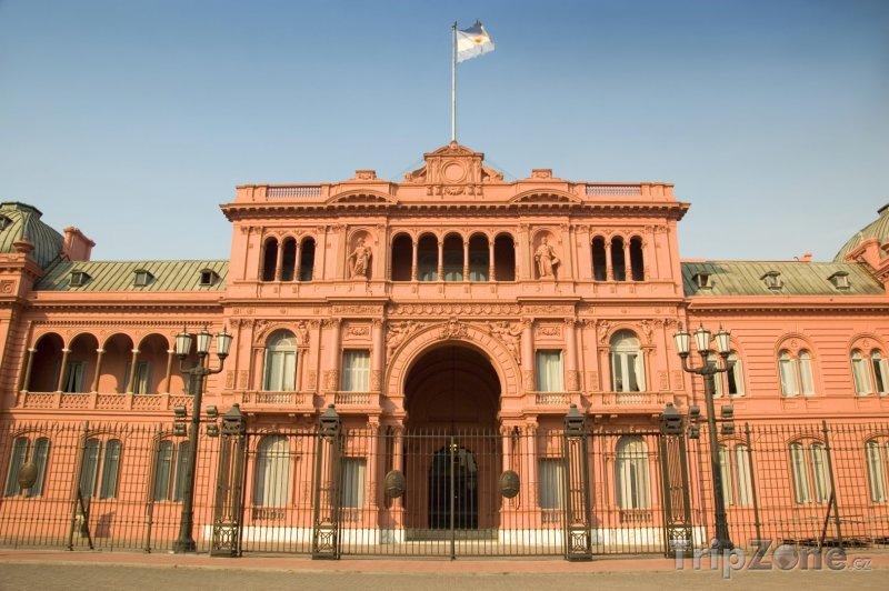 Fotka, Foto Prezidentský palác Casa Rosada (Buenos Aires, Argentina)