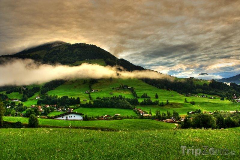 Fotka, Foto Příroda v Rakouských Alpách (Rakouské Alpy, Rakousko)
