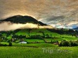 Příroda v Rakouských Alpách