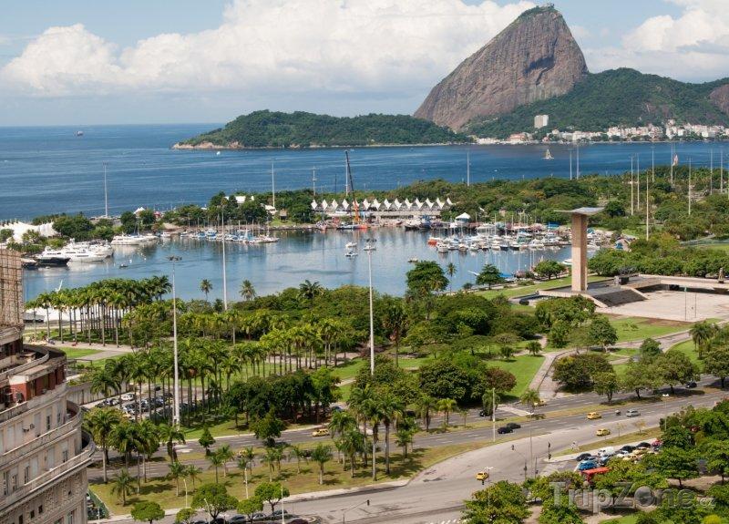 Fotka, Foto Přístav Marina da Glória (Rio de Janeiro, Brazílie)