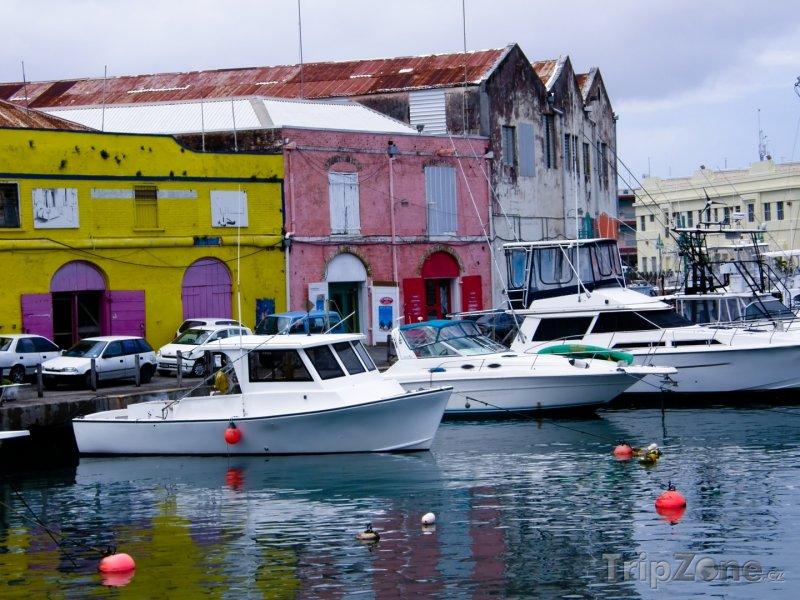 Fotka, Foto Přístav v Bridgetownu (Barbados)