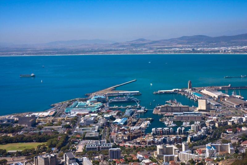 Fotka, Foto Přístav v Kapském městě (Kapské město, Jihoafrická republika)