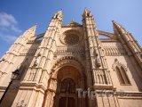 Průčelí katedrály v Palma de Mallorca