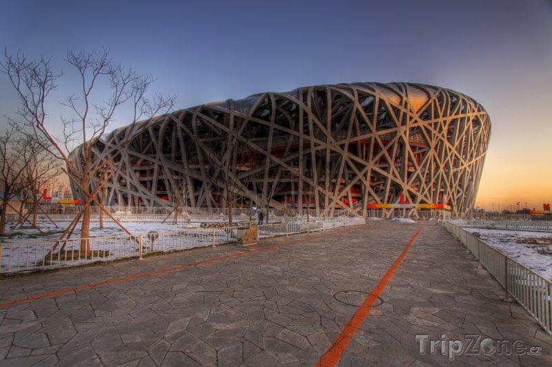 Fotka, Foto Ptačí hnízdo - Pekingský národní stadion (Peking, Čína)