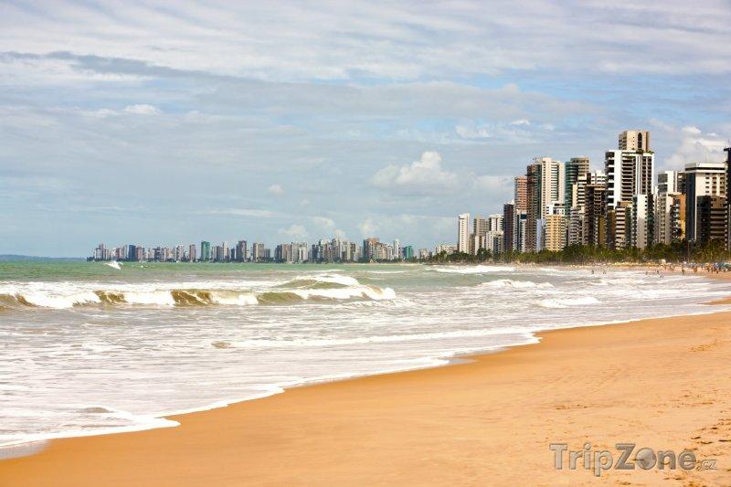 Fotka, Foto Recife, pláž Boa Viagem (Brazílie)