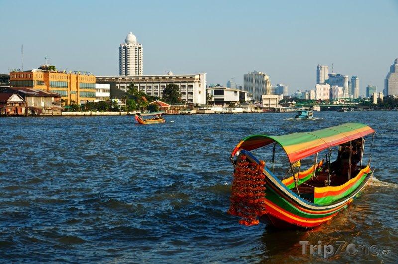 Fotka, Foto Řeka Chao Phraya (Bangkok, Thajsko)