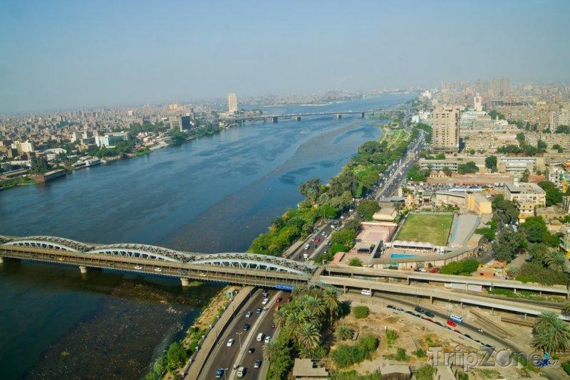Fotka, Foto Řeka Nil (Káhira, Egypt)