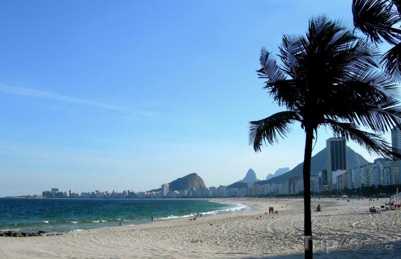 Fotka, Foto Rio de Janeiro - pláž Copacabana (Brazílie)