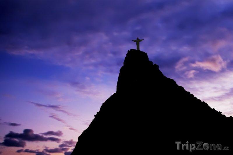Fotka, Foto Rio de Janeiro - socha Krista (Brazílie)