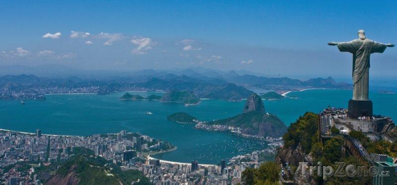 Fotka, Foto Rio de Janeiro, socha Krista (Brazílie)