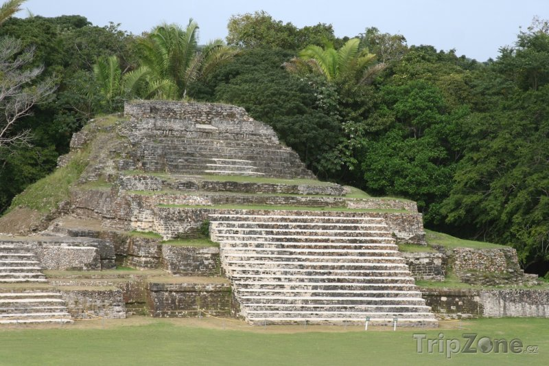 Fotka, Foto Ruiny starověkého mayského města Altun Ha (Belize)