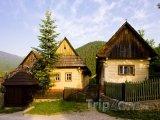 Ružomberok, domy v obci Vlkolínec