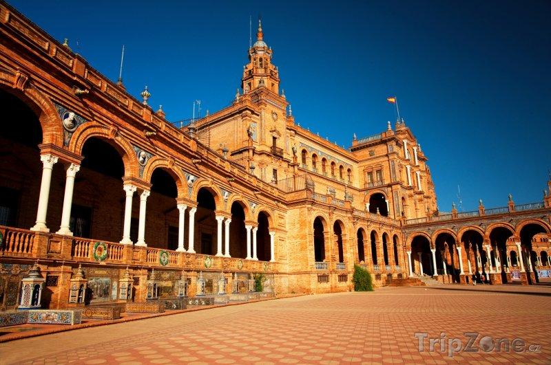 Fotka, Foto Sevilla - Plaza de Espana (Sevilla, Španělsko)