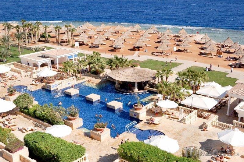 Fotka, Foto Sharm El Sheikh, bazén u pláže (Sinaj, Egypt)