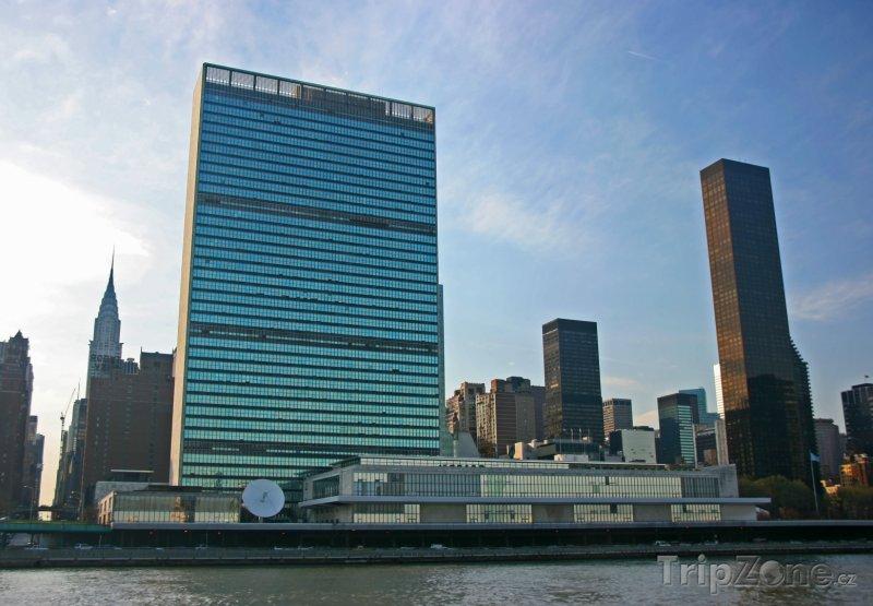 Fotka, Foto Sídlo OSN v New Yorku (New York, USA)