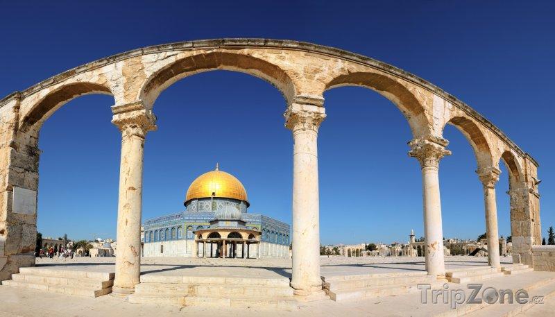 Fotka, Foto Skalní dóm v Jeruzalémě (Izrael)
