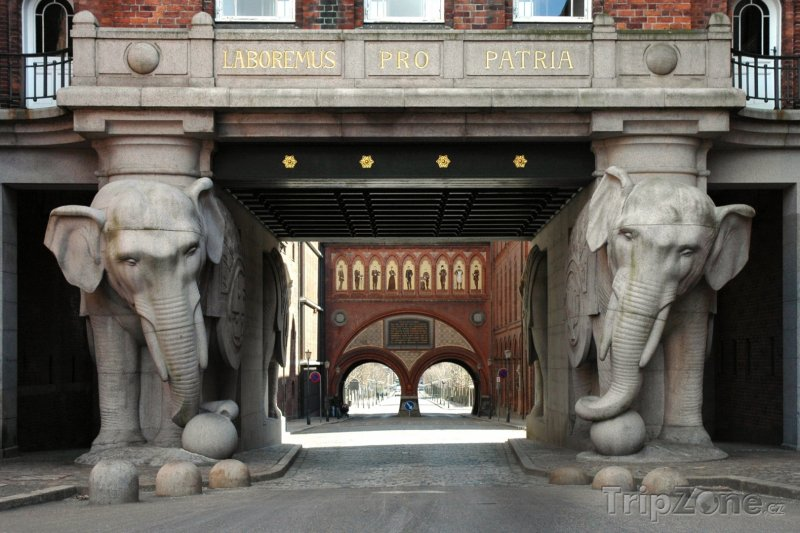 Fotka, Foto Sloní věž (Kodaň, Dánsko)