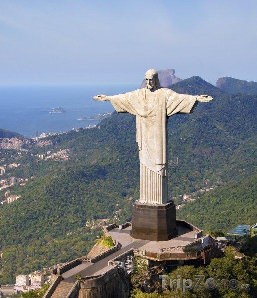 Fotka, Foto Socha Ježíše Vykupitele (Rio de Janeiro, Brazílie)