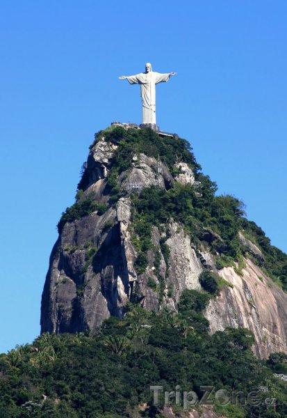 Fotka, Foto Socha Krista Spasitele v Riu (Brazílie)