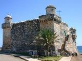 Španělská pevnost Cojimar poblíž Havany