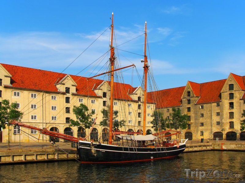 Fotka, Foto Starodávná loď (Kodaň, Dánsko)