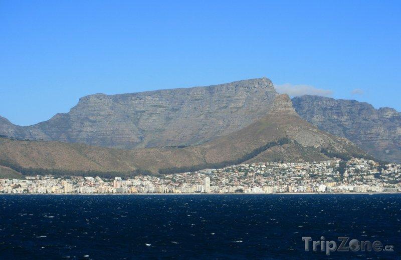 Fotka, Foto Stolová hora nad Kapským městem (Kapské město, Jihoafrická republika)