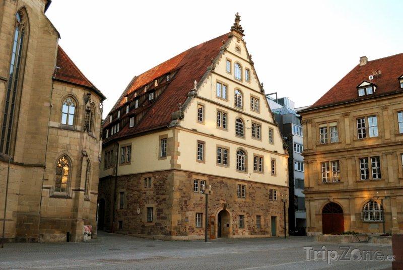 Fotka, Foto Stuttgart - historické centrum (Bádensko-Württembersko, Německo)