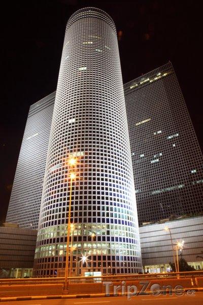 Fotka, Foto Tel Aviv - komplex mrakodrapů Azrieli (Izrael)