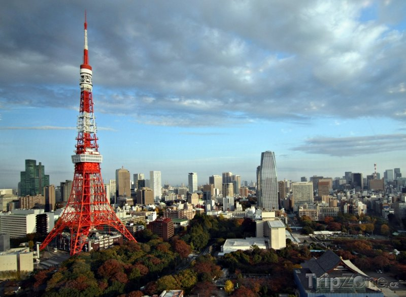 Fotka, Foto Tokijská věž (Tokio, Japonsko)