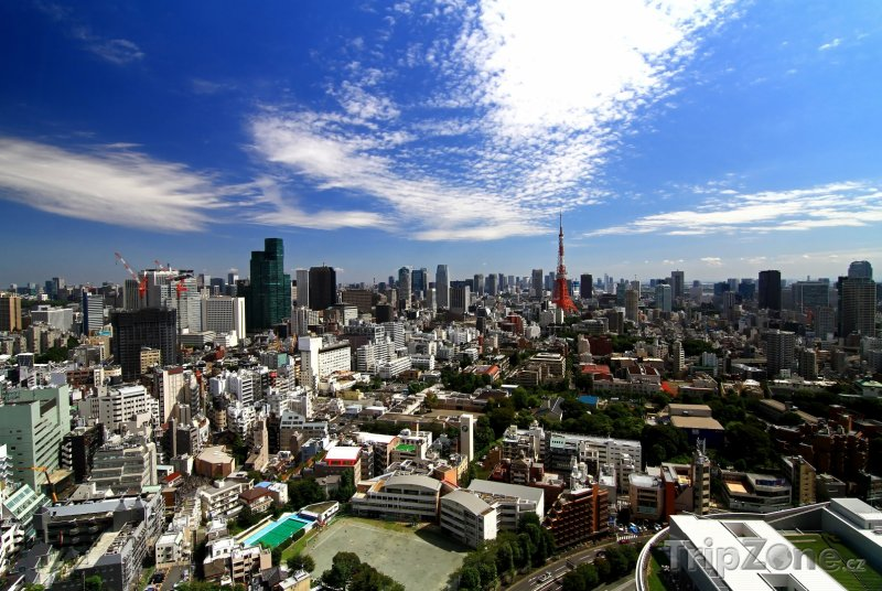 Fotka, Foto Tokio - panorama města (Tokio, Japonsko)