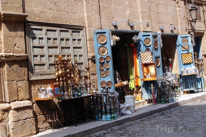 Fotka, Foto Tradiční obchod v centru města (Káhira, Egypt)