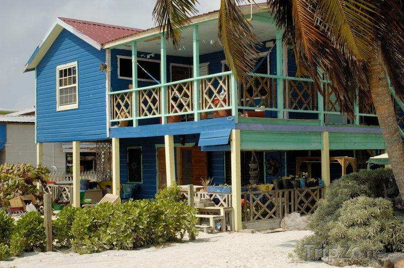 Fotka, Foto Tradiční plážový domek (Belize)