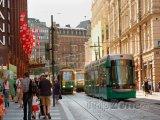 Tramvaje v centru města