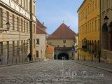 Ulička ve staré části města